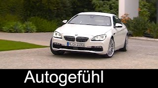 2015/2016 BMW 6 Series Gran Coupe Facelift Driving Exterior Interior - Autogefuehl