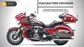 9. UPGARDE! Kawasaki Vulcan 1700 Voyager of the larger V-twins in the world - the price range $17,499