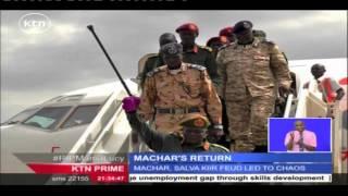 South Sudanese Ex-rebel Leader Riek Machar Sworn In As First Vice President