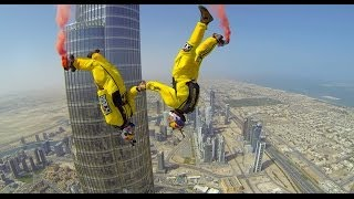 That Was Great: Base Jump From the Tip Of The World's Tallest Building