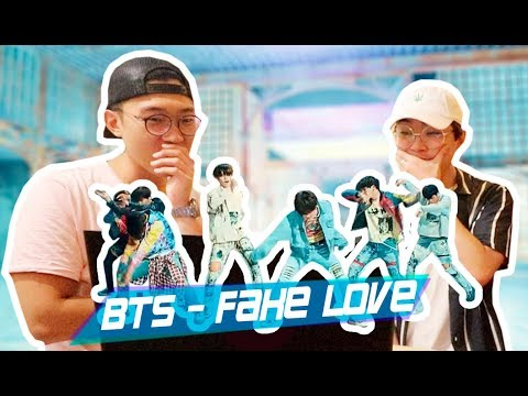BTS - FAKE LOVE REACTION / NO FAN Y UN FAN REACCIONANDO JUNTOS  kenroVlogs ft. CoreanoVlogs