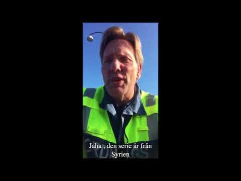 Svensk vakt talar syriska dialekten perfekt   .