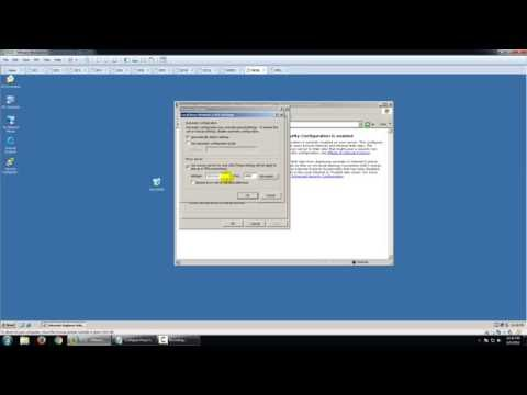 Configure Proxy Settings in Windows Server 2003