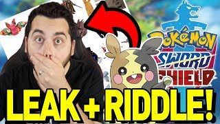 THIS LEAK IS REAL! NEW RIDDLE for POKEMON SWORD and SHIELD! by aDrive