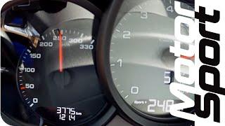 Porsche 911 (991/2) Carrera 4S : 0-250 km/h by Motorsport Magazine