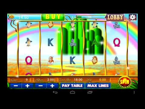 Video of Wizard of Oz Vegas Cash Slots