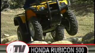 10. ATV Television - 2003 Honda Rubicon Test