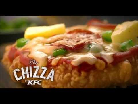 KFC Has Created A Pizza With A Fried Chicken