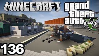 GTA 5 in Minecraft #136 TERRAIN + OUTLINING DONE