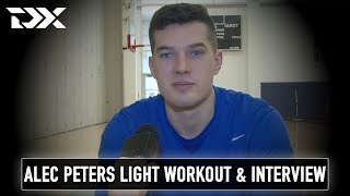 Alec Peters NBA Pre-Draft Workout and Interview