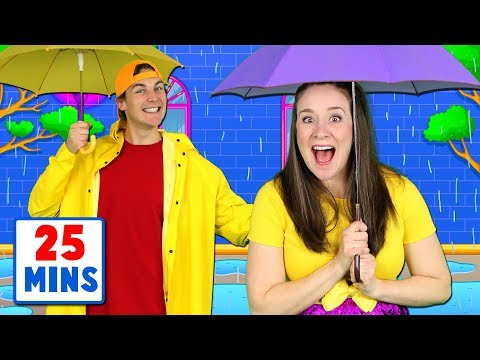 Rain Rain Go Away - Nursery Rhymes and Kids Songs Collection - Popular Songs for Children - Thời lượng: 25 phút.