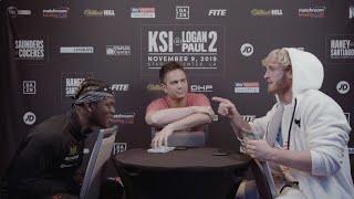 FACE TO FACE | KSI vs Logan Paul 2