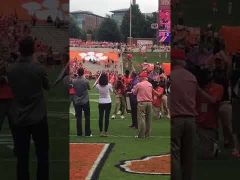 TigerNet: Jack Leggett honorary alumnus ceremony