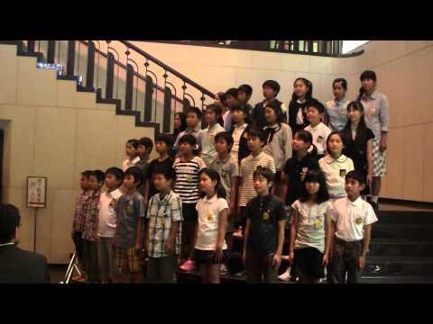 『春や昔』20150521道後小学校5年1組@文化庁長官表彰授与式
