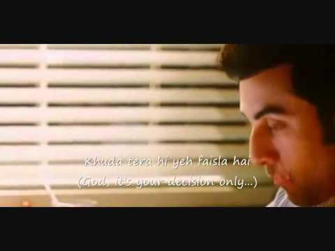 Video Tujhe Bhula Diya....Anjaana Anjaani with lyrics and English Translation.. download in MP3, 3GP, MP4, WEBM, AVI, FLV January 2017