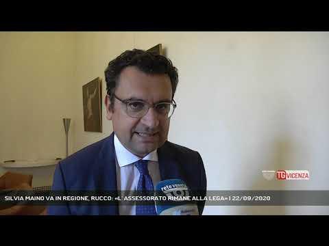 SILVIA MAINO VA IN REGIONE, RUCCO: «L' ASSESSORATO RIMANE ALLA LEGA» | 22/09/2020