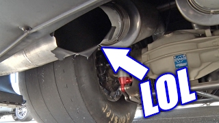 Muffler EXPLODES On Twin Turbo Camaro! by 1320Video