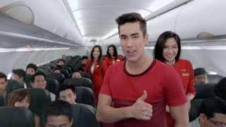 "Video TVC แอร์เอเชีย ""บินจนคุ้น"" ความยาว 30 วินาที MP3, 3GP, MP4, WEBM, AVI, FLV Juni 2018"