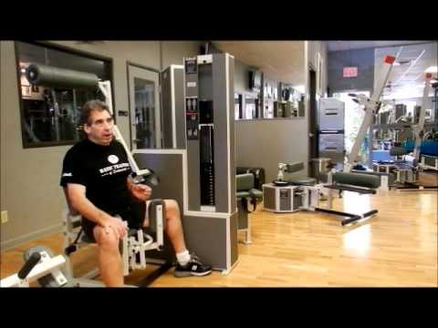 MedX Abdominal Machine with Bill Crawford