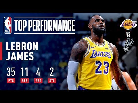 Video: LeBron James Scores 35 & Passes Dirk Nowitzki For Sixth On All-Time Scoring List | October 27, 2018
