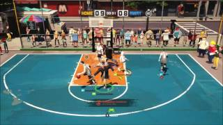 3-on-3 Freestyle Basketball game Beta PS4.
