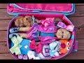 How To Travel With JOJO Siwa American Girl Doll ~ Wardrobe Hotel Closet!