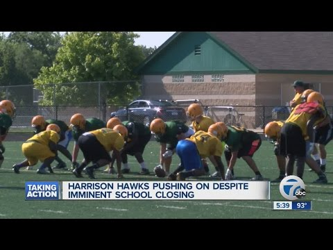 Harrison Hawks push on despite school closing