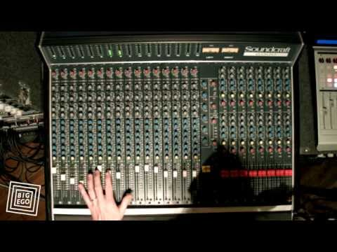 Soundcraft 6000 Recording Console Live Mixdown