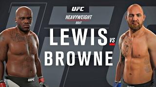 Nonton Ufc Fight Night 105  Derrick Lewis Vs Travis Browne   Full Fight Simulation  Ea Sports Ufc 2   Ps4 Film Subtitle Indonesia Streaming Movie Download