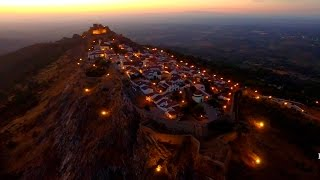 Marvao Portugal  City new picture : Marvão Night Flight - Portalegre - 4K Ultra HD