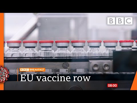 Covid-19: Vaccine minister 'confident' of supplies 🔴 @BBC News live - BBC
