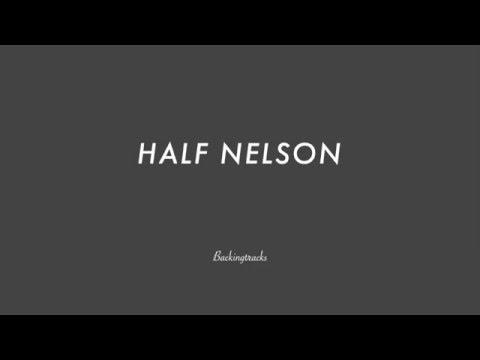 HALF NELSON chord progression - Backing Track Play Along Jazz Standard Bible 2 Guitar
