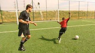 Ruud Van Nistelrooy mit 12-jährigem Danny Welbeck