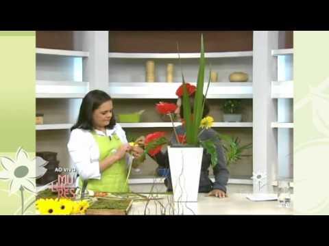 Curso de arranjos florais  Fatima Santtos Designer em Flor & Eventos
