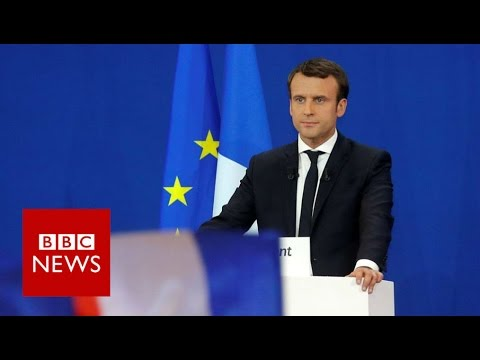 France elections: 'I hope to become your president' Emmanuel Macron - BBC News