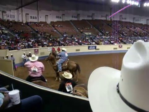 Norman Mitchell Calf Roping OKC Cowboys of Color Performance May 2016