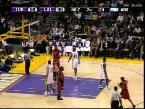 Kobe Bryant Scores 81 Points Raptors vs Lakers (Part 1)