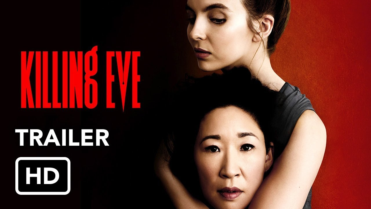 She Kills for Fun. Watch Sandra Oh in BBC America's Spy Thriller Series 'Killing Eve' (Promo) with Jodie Comer