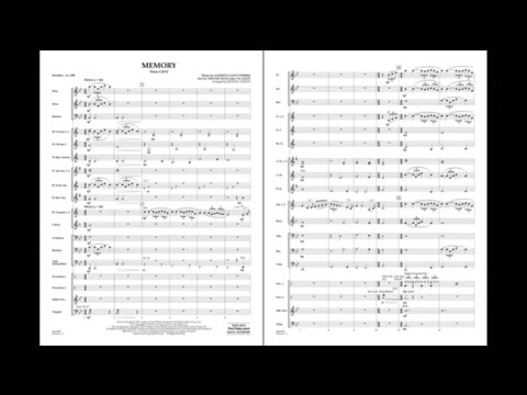 Memory (from Cats) By Andrew Lloyd Webber/arr. Johnnie Vinson
