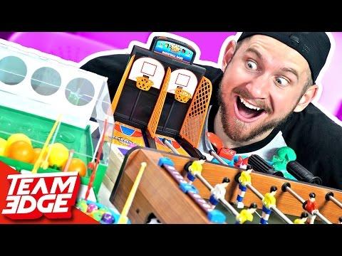 Mini Game Battle!!🏓🎱🎾🏀 (видео)