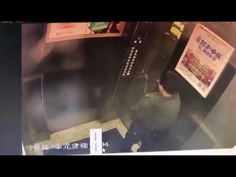 Nuori terroristi pissaa pitkin seiniä hississä – Valvontakamera kuvasi iskun