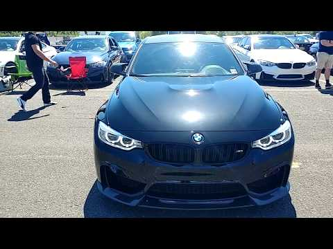 2017 BLACK SAPPHIRE METALLIC BMW M3 COMPETITION PACKAGE