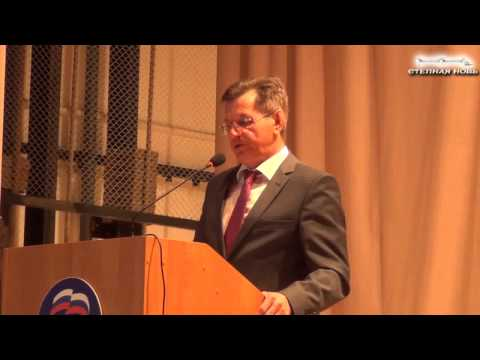 Губернатор А.А.Жилкин на встрече с общественностью Наримановского района