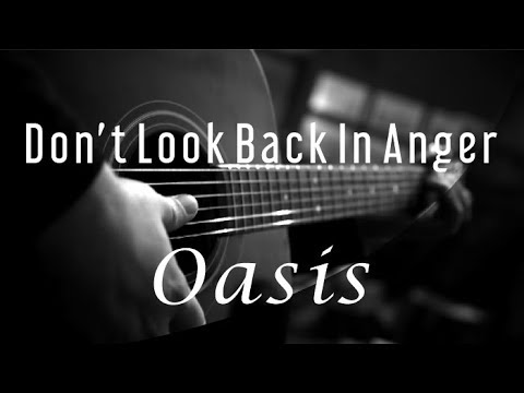 Don't Look Back In Anger - Oasis ( Acoustic Karaoke )