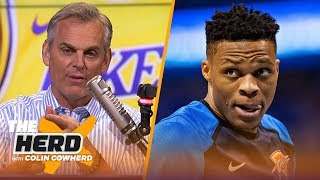 Russell Westbrook is a 'horrible warning', Colin says Lakers need a 'Hail Mary' | NBA | THE HERD by Colin Cowherd