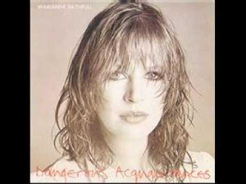 Marianne Faithfull - So sad lyrics
