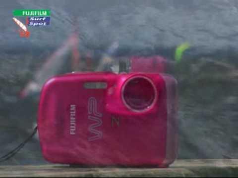 Fujifilm FinePix Z33WP podczas testów w Jastarni