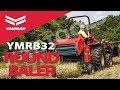 Yanmar YMRB32 Compact Round Hay Baler for Hay Harvest