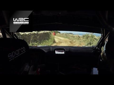 WRC 2 - Rally Italia Sardegna 2018: ONBOARD Kajetanowicz SS19