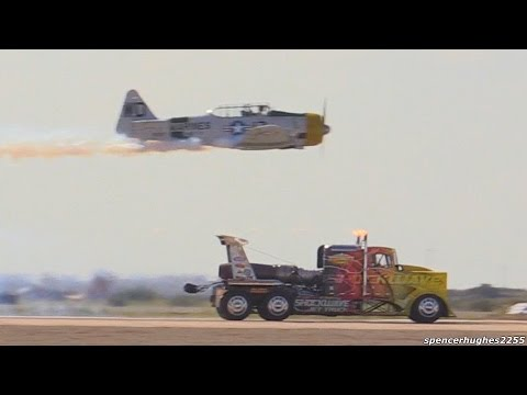 SHOCKWAVE JET TRUCK (RACE) 344.7 MPH !!!
